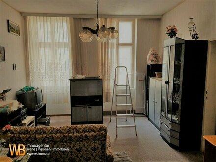 Renovierungsbedürftige 3-Zimmer-Wohnung mit WG-Eignung