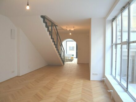 Generalsaniertes Geschäftslokal/Büro über zwei Etagen in der Haydnstraße zu vermieten