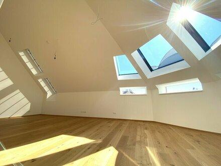 Moderne Dachgeschoss Wohnung | Erstbezug am Brunnenmarkt