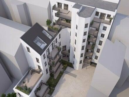 ++NEU++ Hochwertige 3-Zimmer NEUBAU-Wohnung, 2 Balkone (11m²), optimaler Grundriss!!