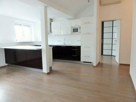 Unbefristete 72m² DG-Wohnung + Terrasse mit Einbauküche Nähe U1 - 1100 Wien