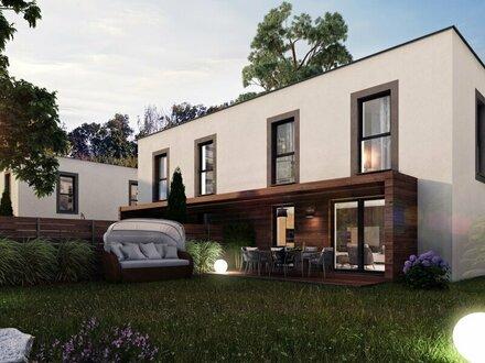 Moderne Doppelhäuser auf Baurechtsgrund in Wien Leopoldau, in Ruhelage, gute Infrastruktur