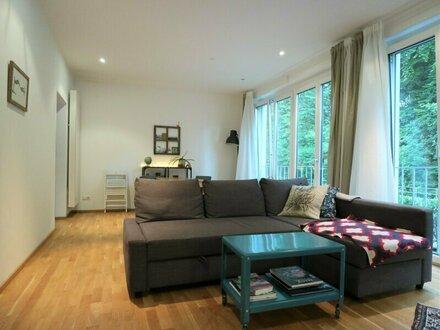 Neuwertige 2-Zimmer-Wohnung mit Parkplatz im Nonntal