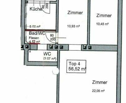 2-Zimmer-Wohnung in zentraler Lage des 12. Wiener Gemeindebezirkes