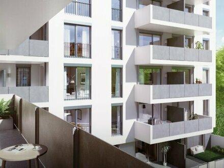 2 Zimmerwohnung Hofseitig mit Balkon im 5. Liftstock TOP 95 - PROVISIONSFREI direkt vom Bauträger