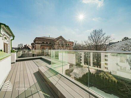 Stilvolles 4-Zimmer-Dachgeschoss-Penthouse mit wunderschöner Terrasse im gehobenen 19. Wiener Gemeindebezirk