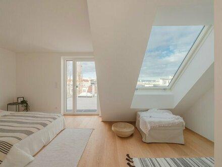 ++VIDEOBESICHTIGUNG++ Hochwertige 3-Zimmer Dachgeschoss-ERSTBEZUG mit Blick aufs Wasser u. fantastische Dachterrasse!
