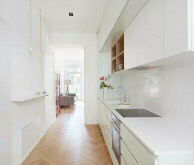 Riesen Wohnküche mit loggia-artigem Anbau