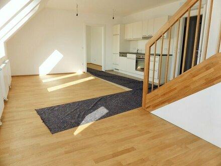 Erstbezug: 95m² Dachmaisonette + 10m² Terrasse mit Einbauküche - 1090 Wien
