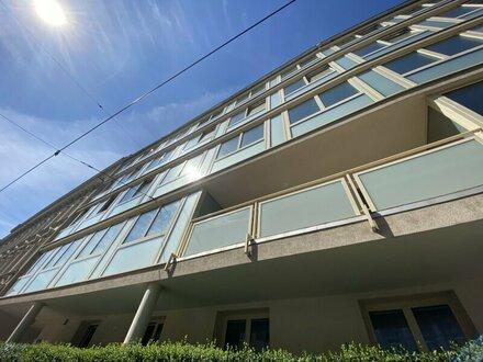 Nähe U6 Nussdorfer Straße: 1-Zimmerwohnung mit verglaster Loggia