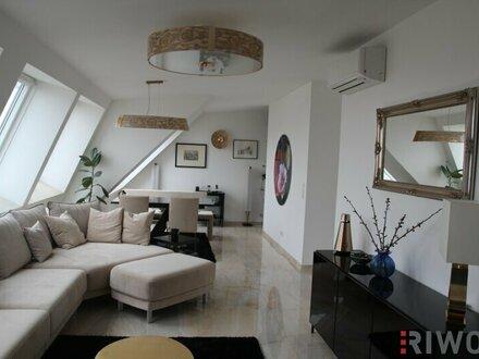 Hochwertige Dachgeschosswohnung mit unverbautem Fernblick