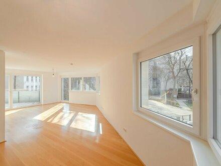 ++RARITÄT** Außergewöhnliche 3-Zimmer-Neubau-Wohnung mit 2 großen Terrassen & Garten in guter Lage des 6. Bezirks