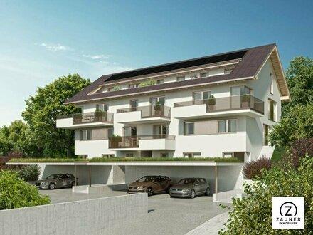 Hallwang: 4-Zi.-Penthouse mit XL-Sonnenterrasse + Lift in die Wohnung