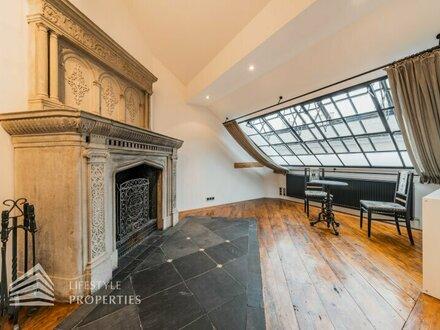Ausgefallene 4-Zimmer Atelierwohnung mit Dachgarten, Terrassen-Pool und Garage
