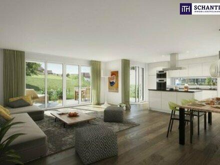 Moderne 92 m² Maisonette Wohnung - mit Terrasse, Eigengarten und Balkon in St.Peter - Provisionsfrei!