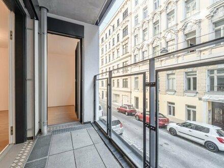 Six in the City: Premium 2-Zimmer Neubau-ERSTBEZUG mit Loggia, BESTLAGE, **RUHELAGE**
