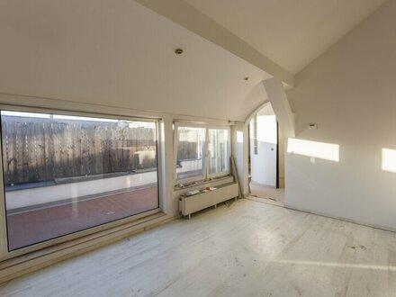 TOP sanierte DG-Wohnung mit Terrasse nahe zum Donaukanal zu vermieten!
