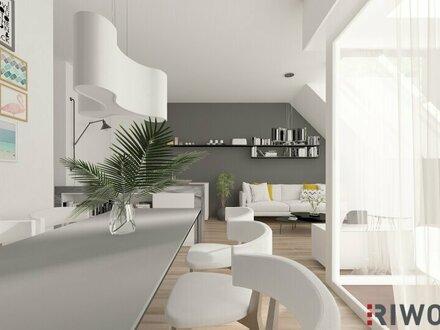 Moderne Dachgeschoßwohnung - großzügige Terrasse