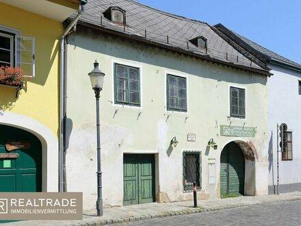 RARITÄT IN NUSSDORF: Romantisches Winzerhaus aus dem 17. Jhdt.