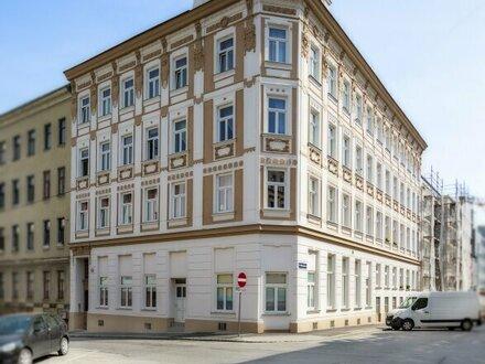 Südwestliche Galerie-Wohnung! Generalsanierter 3-Zimmer-Altbau im Hochparterre