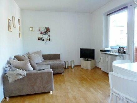 Gemütliche 2-Zimmer-Wohnung in Parsch/oberst. Geschoss