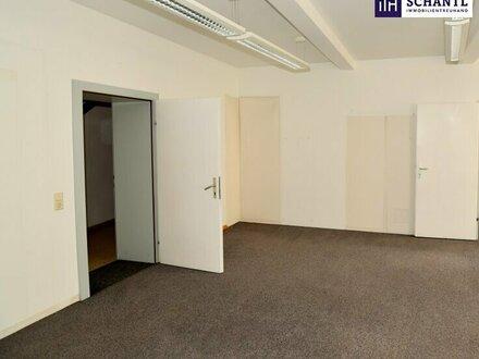 TOP GESCHÄFTSFLÄCHE: Helles 3-Zimmer BÜRO! Direkt im ZENTRUM von HARTBERG! SCHNELL SEIN!!