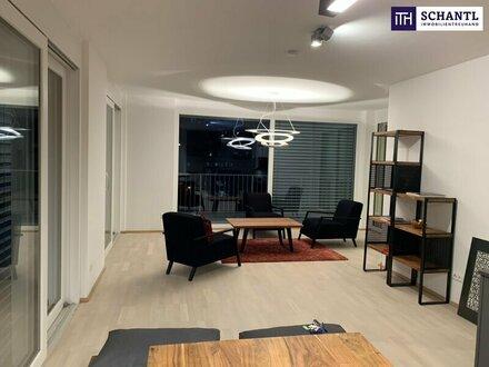 LUXURIÖS! TRAUMHAFTE PENTHOUSE-Etage mit ERSTBEZUG! Citylage + Lichtdurchflutet + Riesige Terrassen + Tiefgarage + Beste…