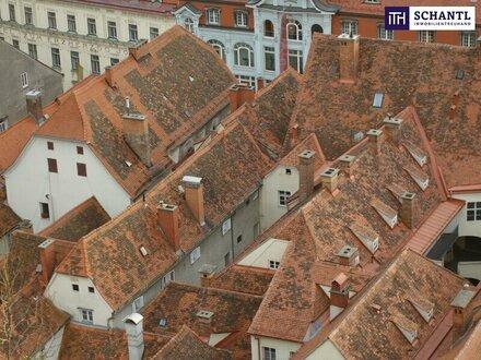 ITH - EINZIGARTIG!!! Dachgeschosswohnung mit Wendeltreppe mitten in der Grazer Kulturhauptstadt Europas 2003!!!