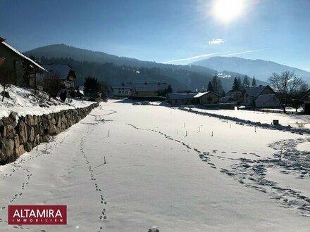 Ein schönes Platzerl! 700m² Baugrundstück in sonniger, ebener Lage mit Bergblick