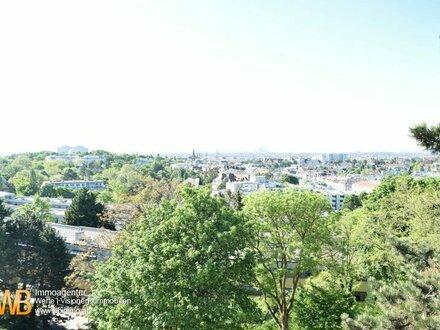 Rundum grün! Perfekter Traumblick nach Wien! Bestlage in 1180 Wien