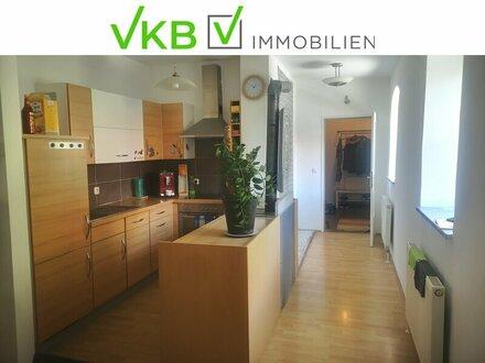 Die 72,86 m² große Wohnung befindet sich im Obergeschoss dieses nach und...