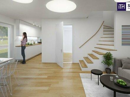 Hier heißt es SCHNELL SEIN: LIEBEVOLL GEPLANTE Haushälfte in Grünlage + atemberaubender FERNBLICK + Garten + Hochwertige…