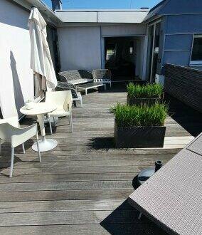 Sonnenschein und Lebenslust - Traumhafte 4,5-Zi-Penthouse-Whg mit 162 m2 + 41 m2 Terrasse | Alt-Liefering