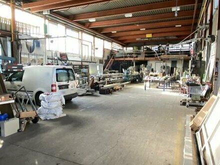Produktionshalle - Lager - Werkstätte mit Büro