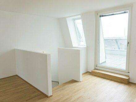 ERSTBEZUG Maisonettewohnung mit zwei Terrassen und einem Garagenplatz!