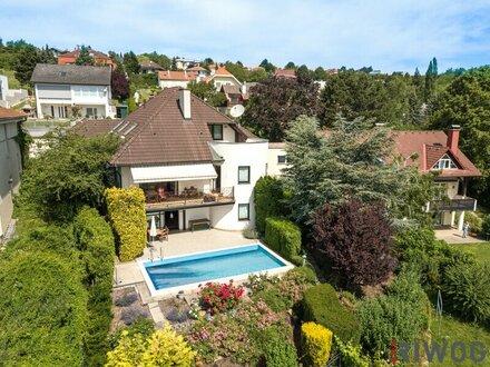 EIN TRAUM am Ölberg- Repräsentative Villa, großzügig, mit sensationeller Aussicht