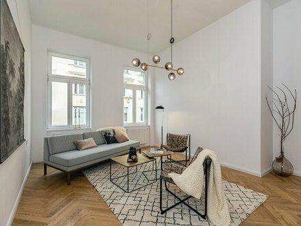 DER KANDLHOF - REPRÄSENTATIVES URBANES WOHNEN auf 86m² in einem generalsanierten Jahrhundertwendehaus - 1070 Wien
