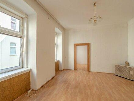 ++NEU++ Sanierungsbedürftige 2-Zimmer-Wohnung, Hofruhelage!