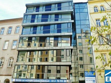 Architektonisch interessantes Bürogebäude