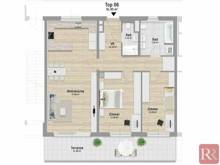 Elegante 3-Zimmer-Wohnung im Erstbezug - provisionsfrei