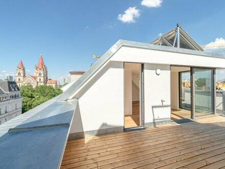 ++NEU++ Hochwertige DG-Maisonette, 4-Zimmer ERSTBEZUG, 3 Terrassen, optimaler Grundriss!! **VIDEOBESICHTIGUNG**