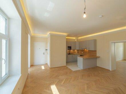 ++NEU++ Hochwertiger 2-Zimmer Altbau-ERSTBEZUG mit ca. 7m² Terrasse! FREI VERMIETBAR!
