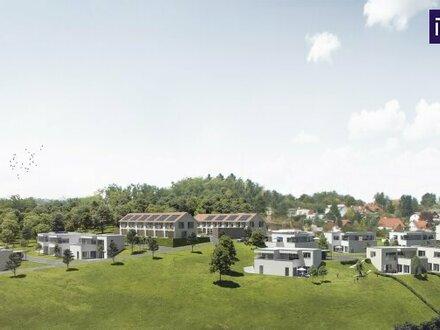 Außergewöhnliches Terrassenhaus im Grünen + großzügige Terrassen + Balkon + Carport + Abstellplatz inklusive!
