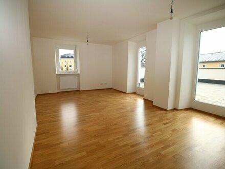 Neuwertige 4-Zimmer-Wohnung mit XL-Dachterrasse in Maxglan