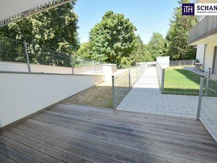 Idylle im Garten, das Rauschen des Baches und viel Lebensqualität auf über 96 m² Wohnfläche!