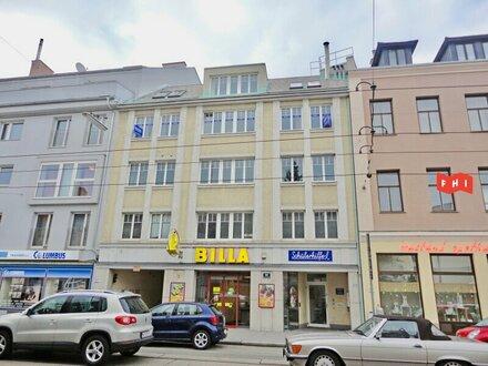 Vermietet wird ein helles Büro mit Terrassen