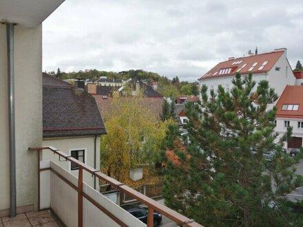 Sehr helle 2 Zimmer Wohnung mit Balkon und Gemeinschaftsgarten in Ober St. Veit