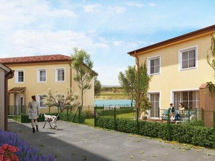 ACHTERSEE - Sonnige, exlusive & klimatisierte Doppelhäuser mit Toskana-Flair - HAUS 4 - MASSIVHAUS!