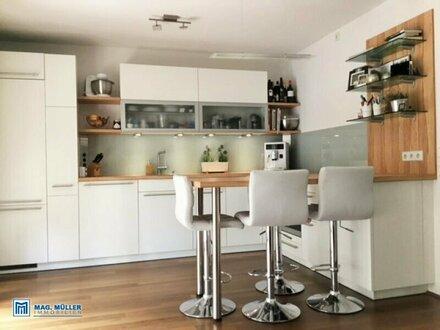 Stylisch moderne 2-ZI-Wohnung & Traumterrasse in Parklage - Henndorf