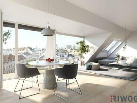 "ERSTBEZUG: 4-Zimmer Penthouse mit 2 Terrassen --> Projekt ""Leopold Living 7"""
